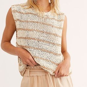 Free People Wave After Wave Crochet Tank